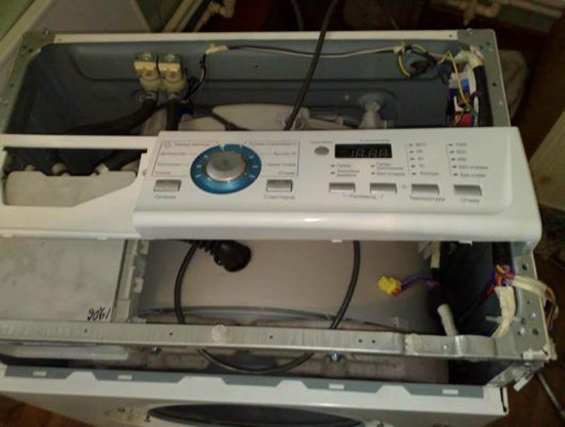 Ремонт электроники стиральной машины своими руками