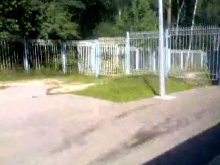 на электричке от Ивантеевки до Ивантеевке-2