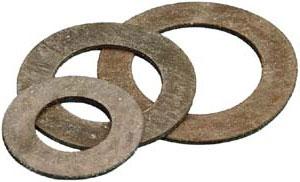 Прокладки паронитовые кольцевые Ду 15-500 ГОСТ 15180-86