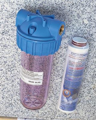 прозрачный аквабос с фильтром