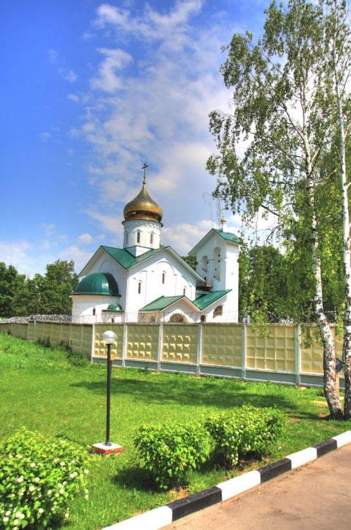Церковь Александра Невского в Ашукино