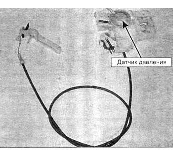 Рисунок- блокировка при помощи датчика давления
