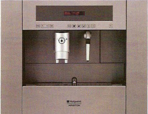 Hotpoint Ariston (Италия)  кофемашина с сенсорным управлением