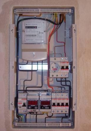 прокладка коммуникаций электрики