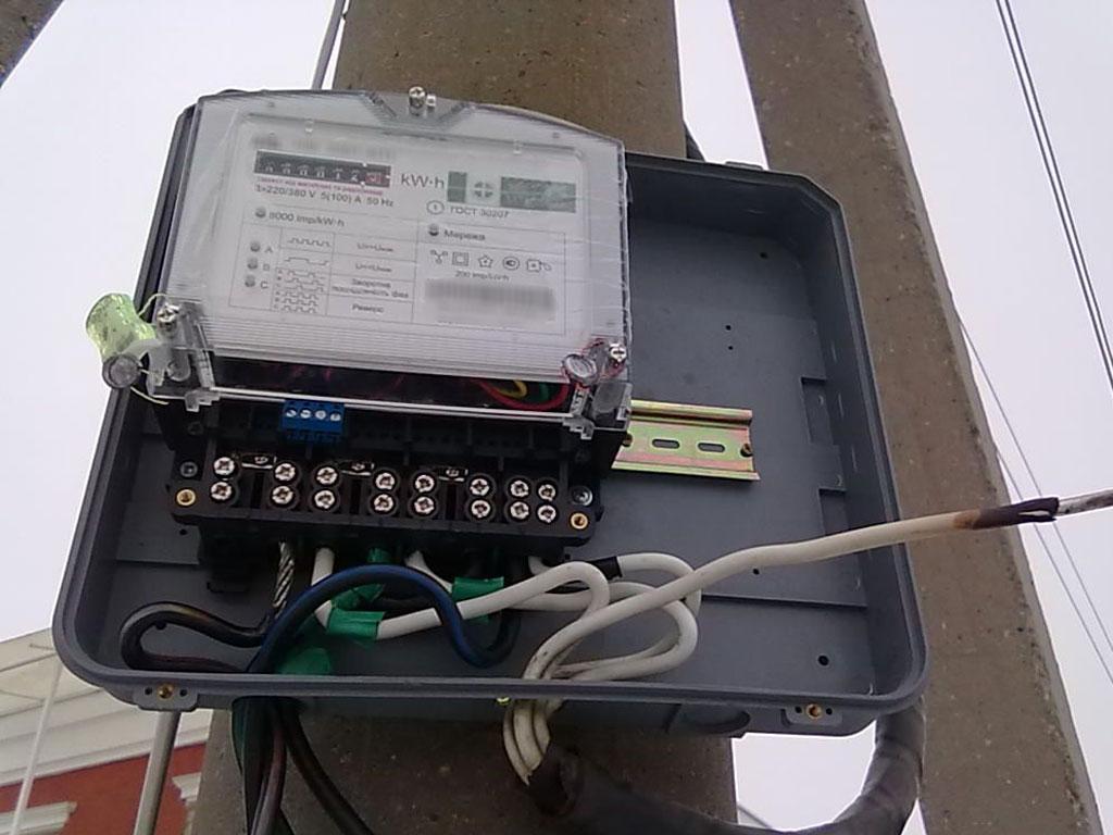 замена, установка счётчиков электроэнергии