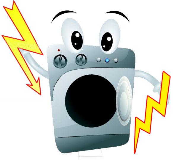 Как сделать, чтобы стиральная машина не билась током?