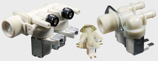 Клапана для стиральных машин купить оригинальную деталь или аналог